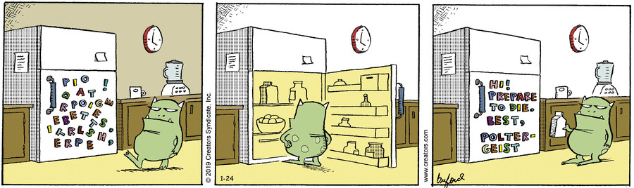 Scary Gary for Jan 24, 2019