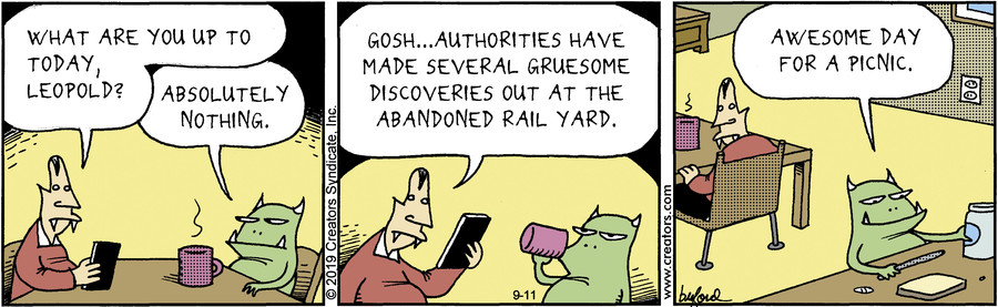 Scary Gary for Sep 11, 2019