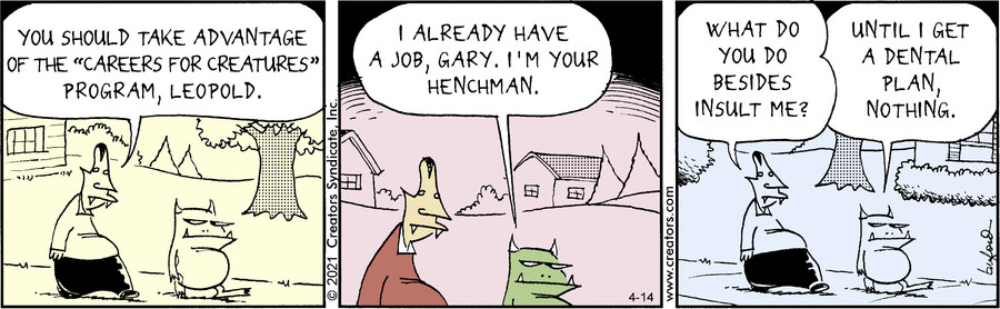 Scary Gary for Apr 14, 2021