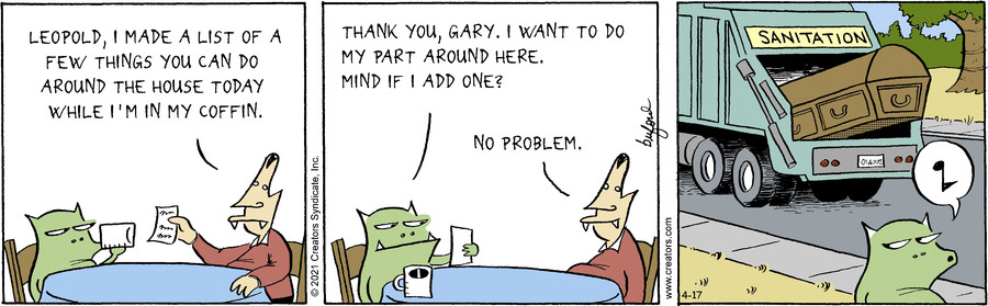 Scary Gary for Apr 17, 2021