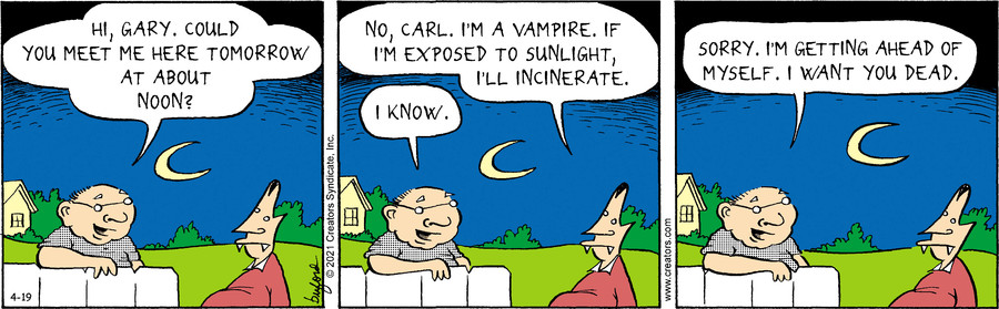 Scary Gary for Apr 19, 2021