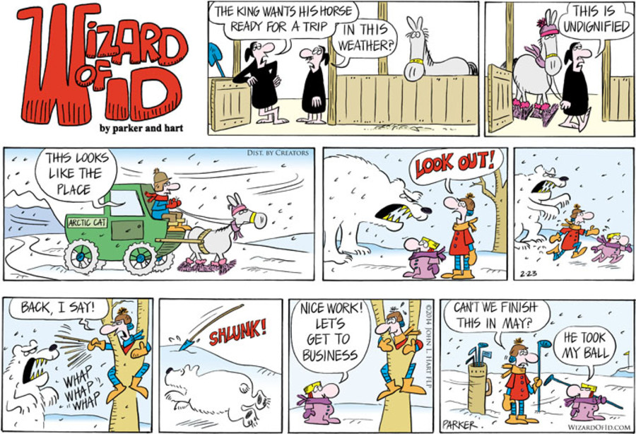 Wizard of Id for Feb 23, 2014