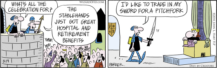 Wizard of Id for Mar 19, 2014