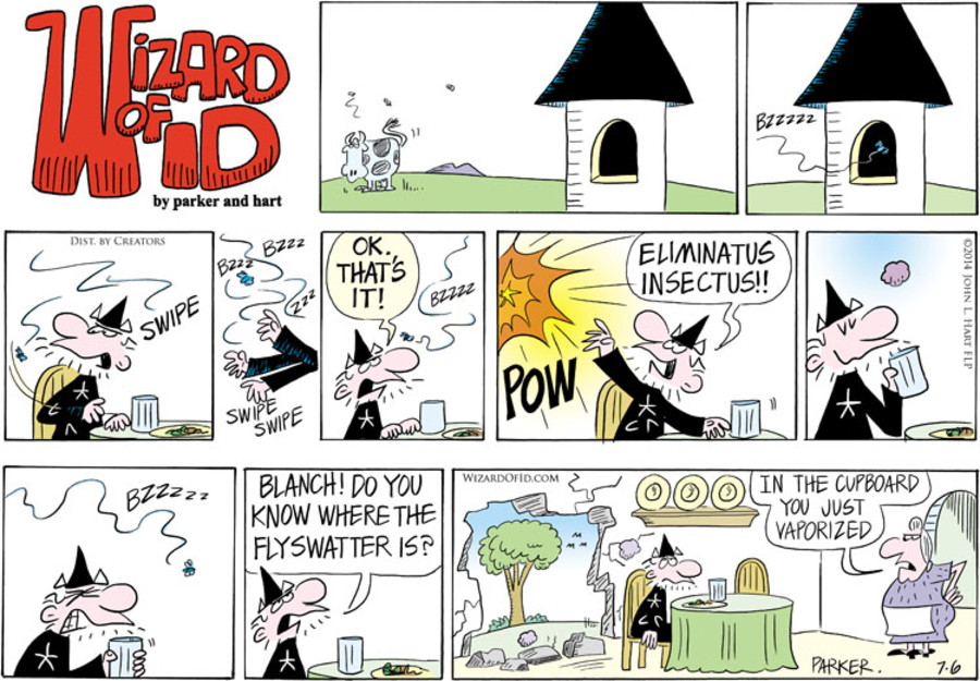Wizard of Id for Jul 06, 2014
