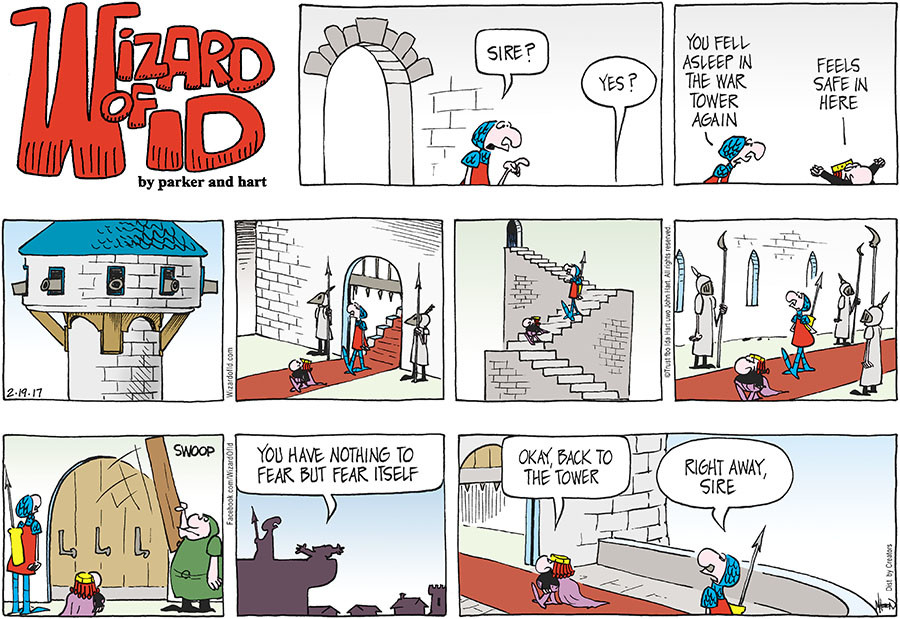 Wizard of Id for Feb 19, 2017