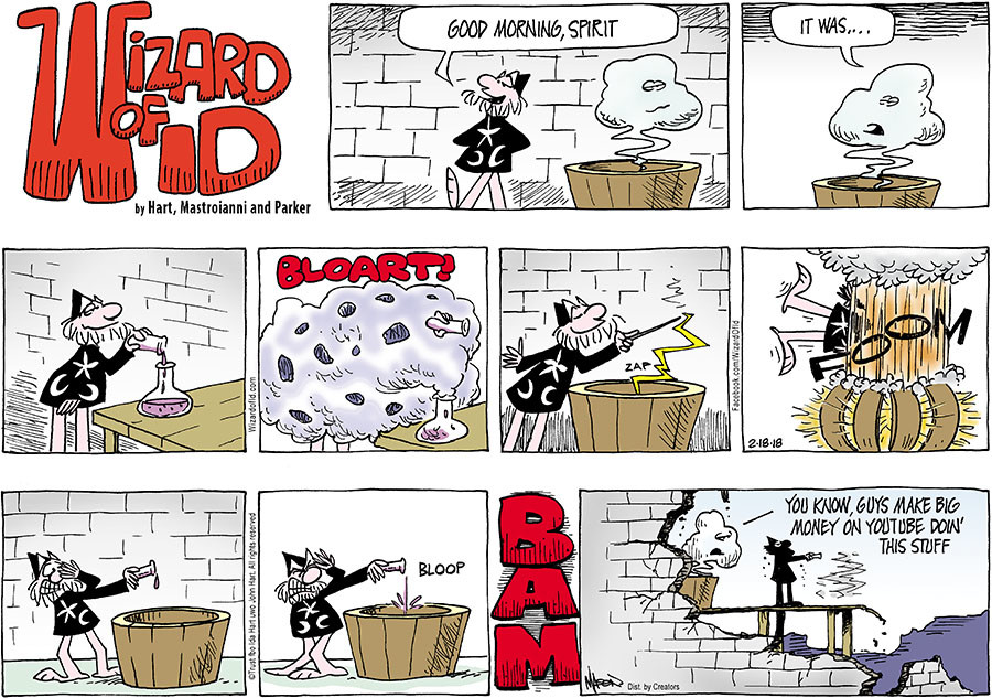 Wizard of Id for Feb 18, 2018