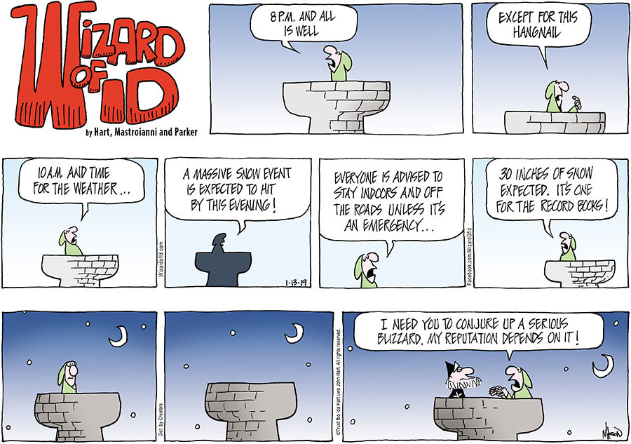 Wizard of Id for Jan 13, 2019