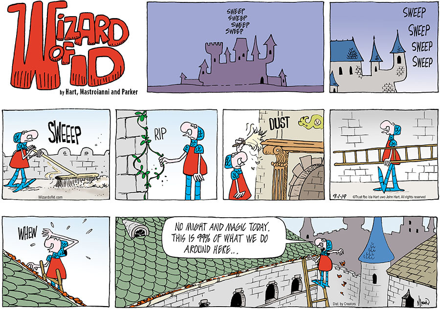Wizard of Id for Sep 01, 2019