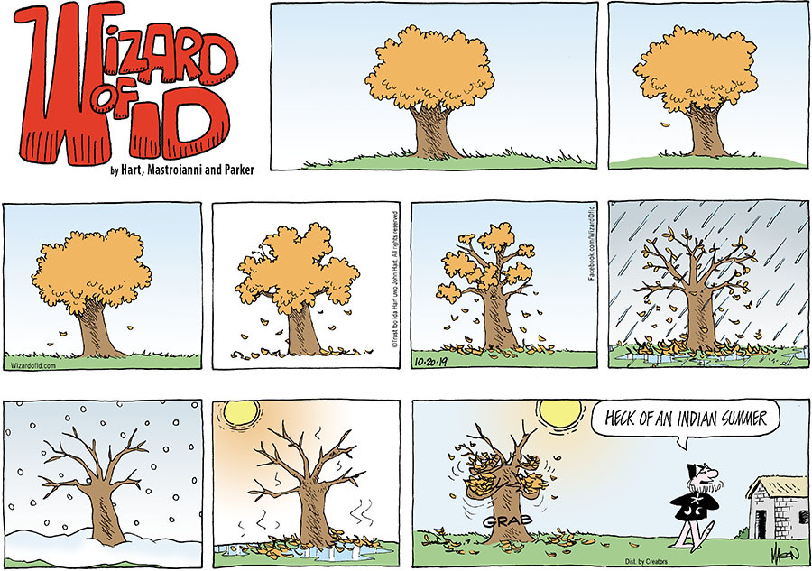 Wizard of Id for Oct 20, 2019