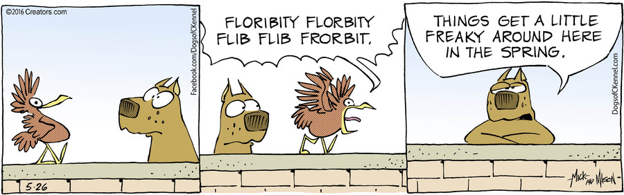 Dogs of C-Kennel for May 26, 2016
