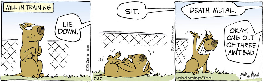 Dogs of C-Kennel for May 27, 2016