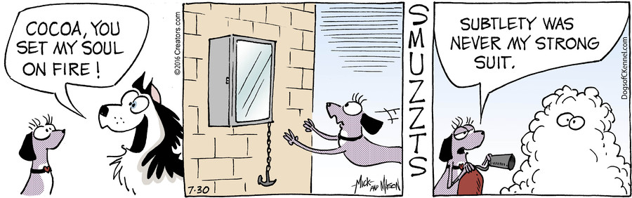 Dogs of C-Kennel for Jul 30, 2016