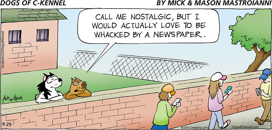 Dogs of C-Kennel for Sep 25, 2016