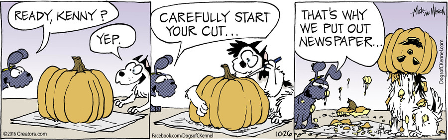 Dogs of C-Kennel for Oct 26, 2016