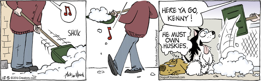 Dogs of C-Kennel for Dec 05, 2016