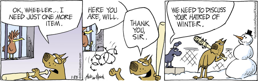 Dogs of C-Kennel for Jan 23, 2017