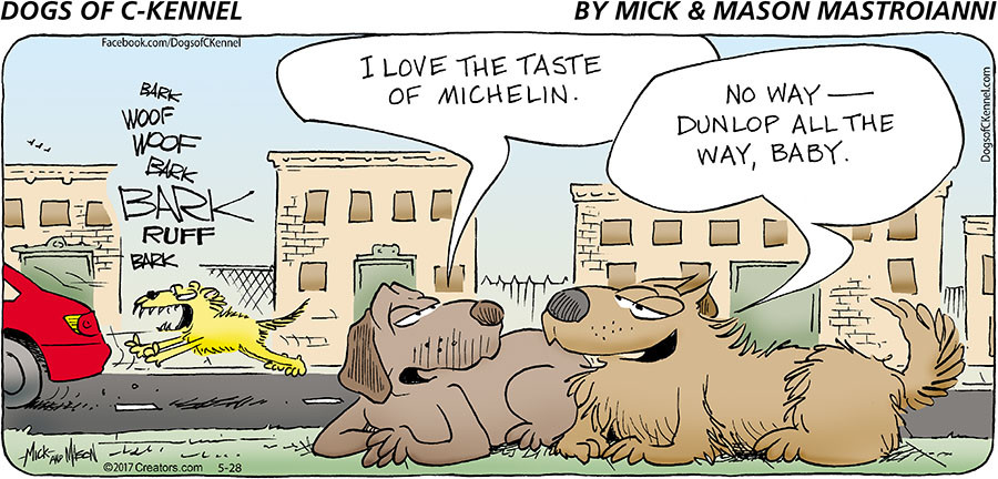 Dogs of C-Kennel for May 28, 2017
