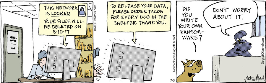 Dogs of C-Kennel for Jul 05, 2017