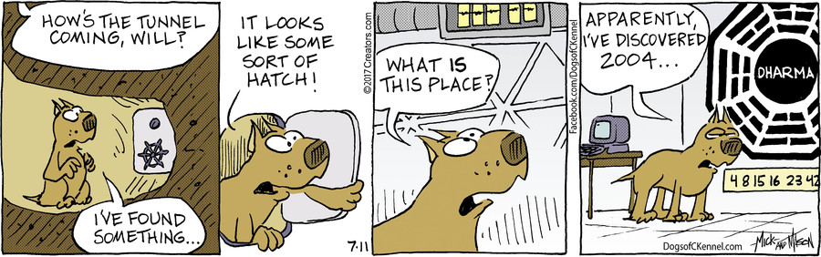 Dogs of C-Kennel for Jul 11, 2017