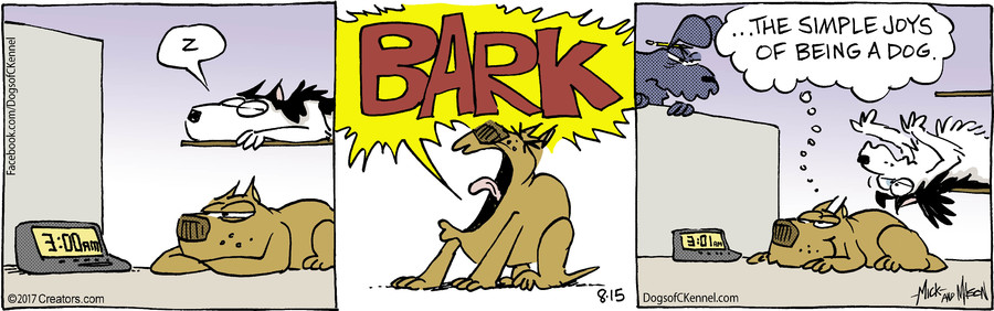 Dogs of C-Kennel for Aug 15, 2017