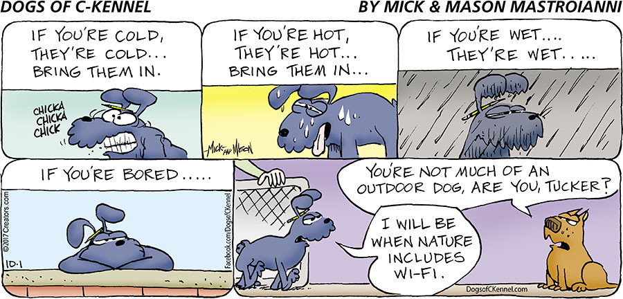 Dogs of C-Kennel for Oct 01, 2017