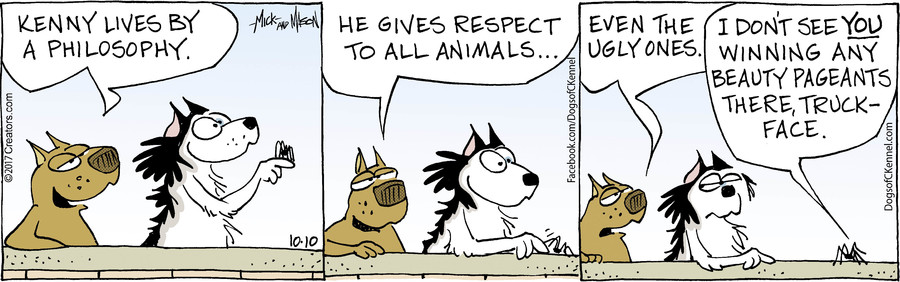 Dogs of C-Kennel for Oct 10, 2017