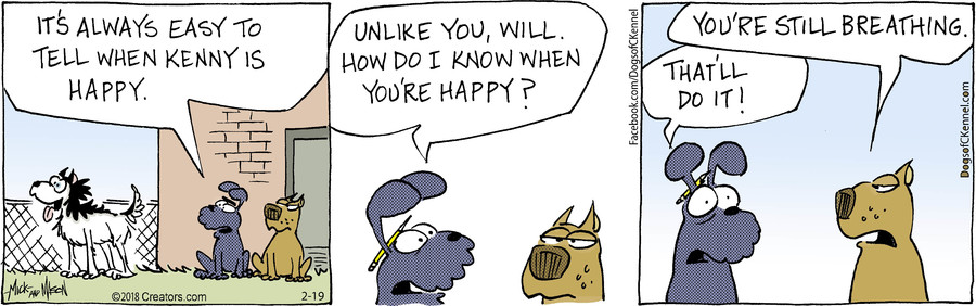 Dogs of C-Kennel for Feb 19, 2018