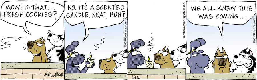 Dogs of C-Kennel for Mar 06, 2018