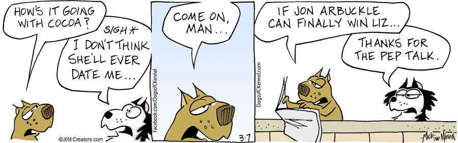 Dogs of C-Kennel for Mar 07, 2018