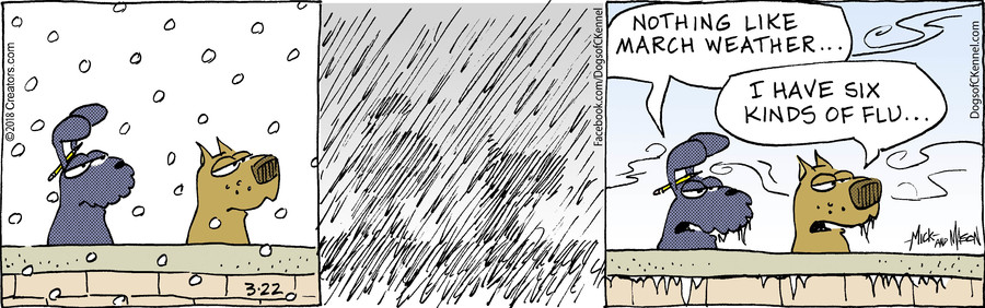 Dogs of C-Kennel for Mar 22, 2018
