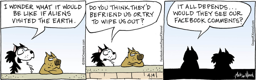 Dogs of C-Kennel for Apr 14, 2018