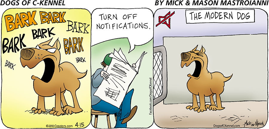 Dogs of C-Kennel for Apr 15, 2018
