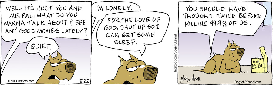 Dogs of C-Kennel for May 22, 2018