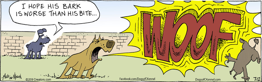 Dogs of C-Kennel for Jul 12, 2018