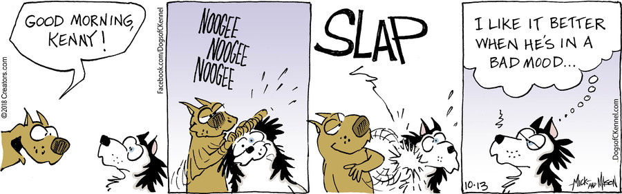 Dogs of C-Kennel for Oct 13, 2018