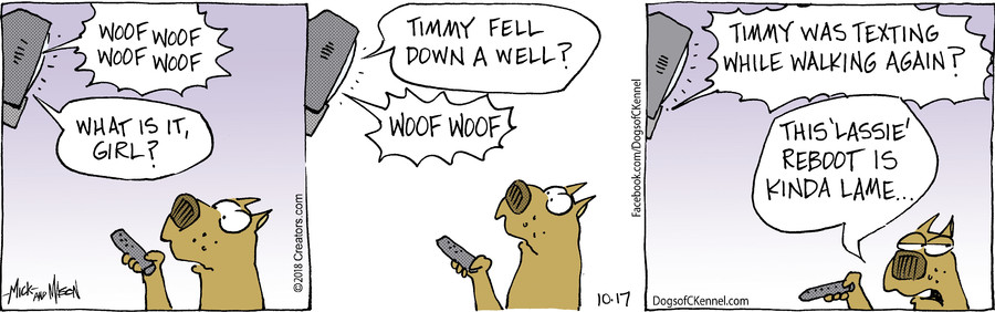 Dogs of C-Kennel for Oct 17, 2018