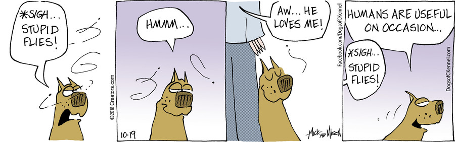 Dogs of C-Kennel for Oct 19, 2018