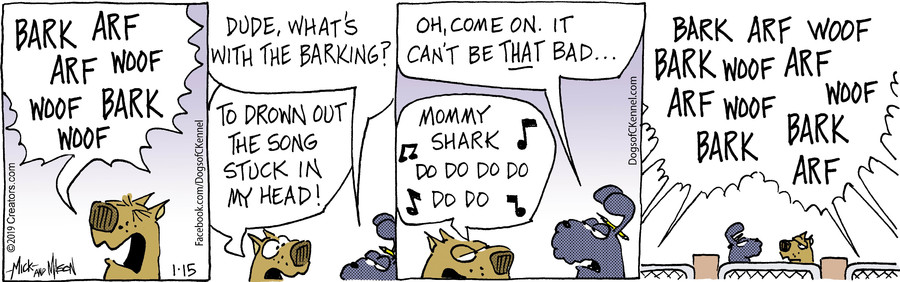 Dogs of C-Kennel for Jan 15, 2019