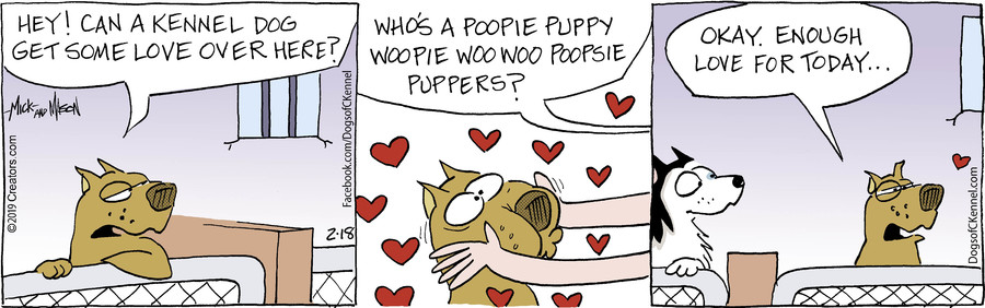 Dogs of C-Kennel for Feb 18, 2019