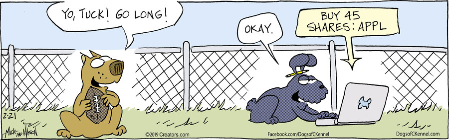 Dogs of C-Kennel for Feb 21, 2019