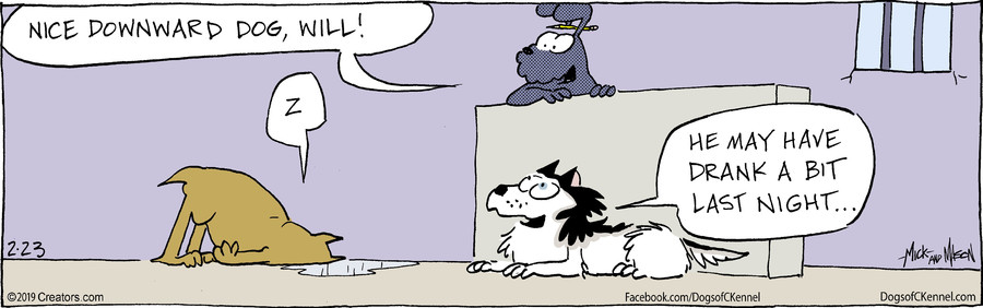 Dogs of C-Kennel for Feb 23, 2019