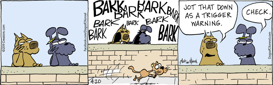 Dogs of C-Kennel for Apr 20, 2019