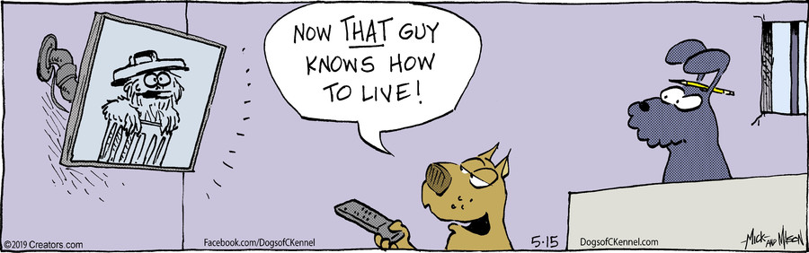 Dogs of C-Kennel for May 15, 2019