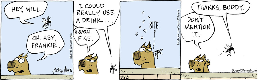 Dogs of C-Kennel for Jul 22, 2019