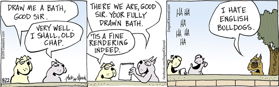 Dogs of C-Kennel for Aug 22, 2019