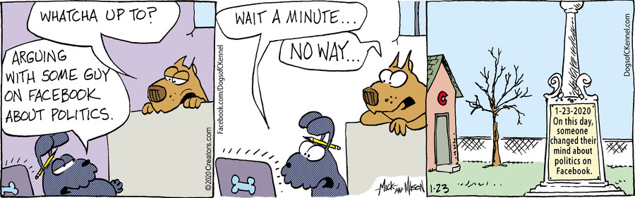 Dogs of C-Kennel for Jan 23, 2020