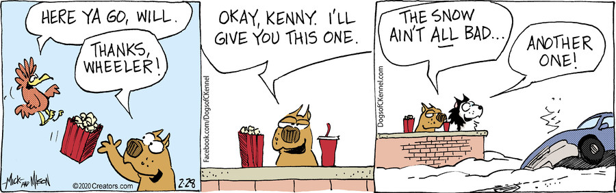 Dogs of C-Kennel for Feb 28, 2020