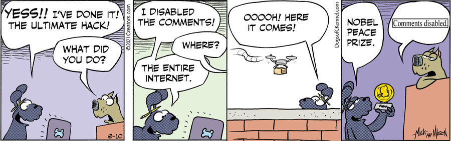 Dogs of C-Kennel for Jun 10, 2021