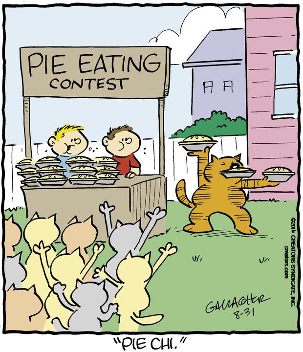 Heathcliff for Aug 31, 2016