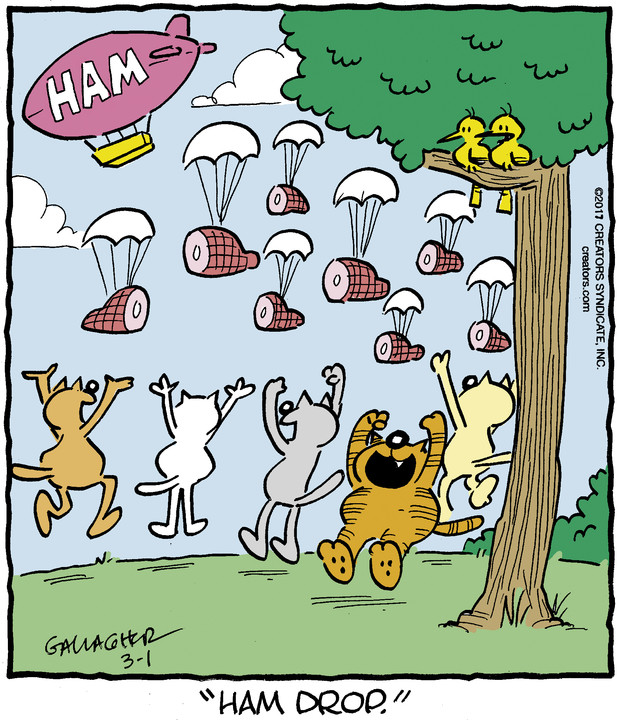 Heathcliff for Mar 01, 2017